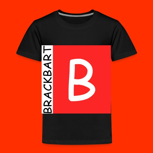 Brackbart Official Logo - Toddler Premium T-Shirt
