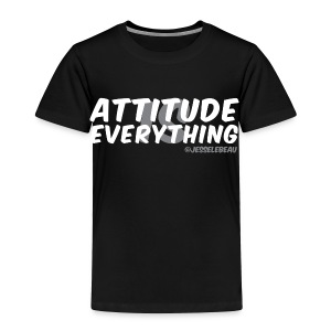 AIE Attitude Overlay White - Toddler Premium T-Shirt
