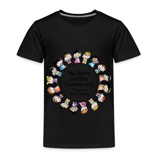 TShirtHarmonyFull by You'll Wear Me Out - Toddler Premium T-Shirt