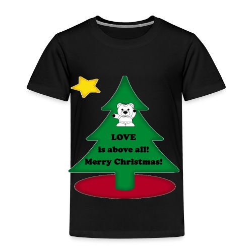 Christmas is love - Toddler Premium T-Shirt