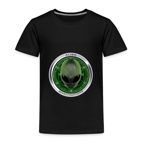New Alien Investigations Head Logo - Toddler Premium T-Shirt