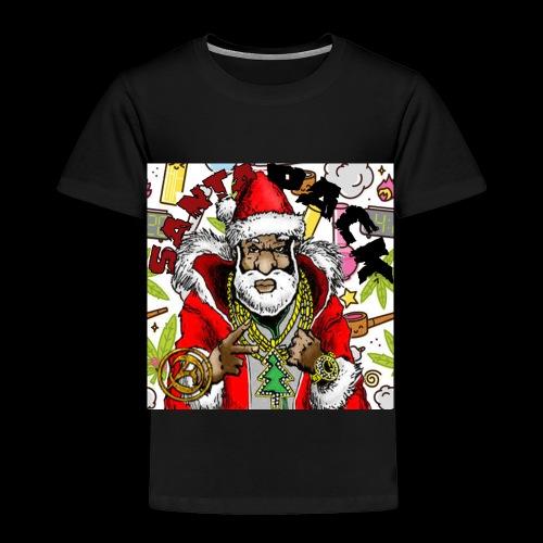 Santa Pack (Christmas Hip-Hop Gear) - Toddler Premium T-Shirt