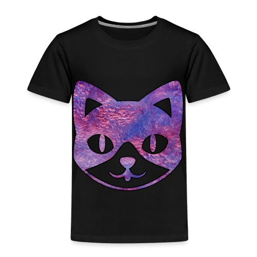 Pink Furry Kitty - Toddler Premium T-Shirt