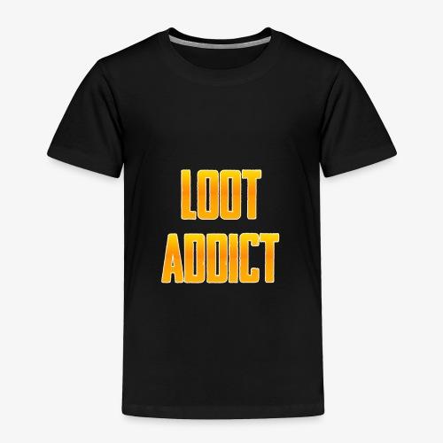 Loot Addict - PUBG Battlegrounds - Toddler Premium T-Shirt