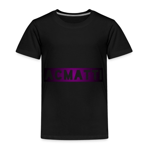 Simple ACMATTI - Toddler Premium T-Shirt