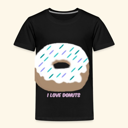 I Love Donuts - Toddler Premium T-Shirt