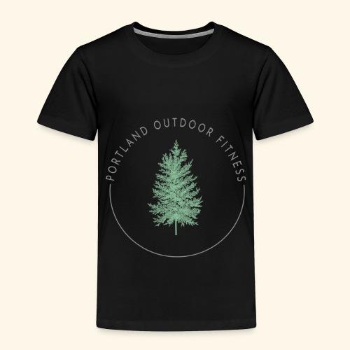 Circle Logo Bolded - Toddler Premium T-Shirt