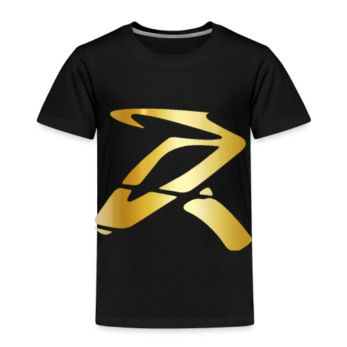 Rizz R Logo GOLD - Toddler Premium T-Shirt
