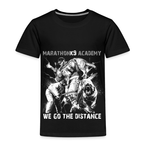 MarathonK9 Academy Graphic Shirt - Toddler Premium T-Shirt