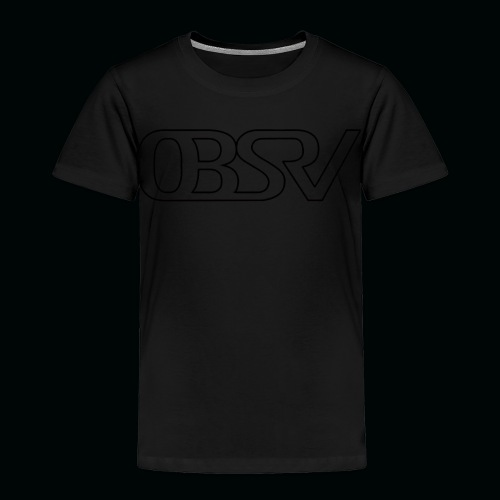 OBSRV Void - Toddler Premium T-Shirt