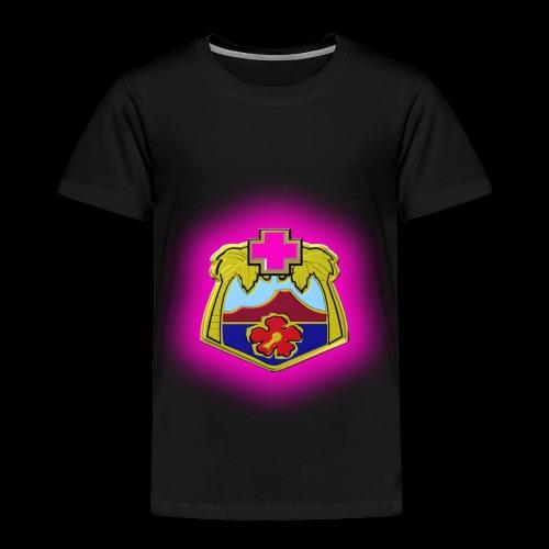 TRIPLER LOGO IN PINK - Toddler Premium T-Shirt