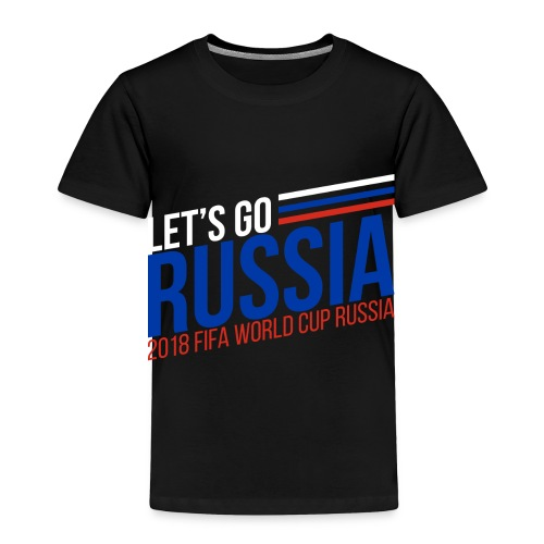 Russia World cup - Toddler Premium T-Shirt