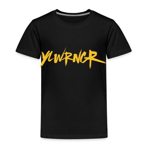 YLWRNGR Logo - Toddler Premium T-Shirt