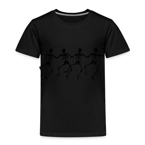 Dancing Skeletons - Toddler Premium T-Shirt