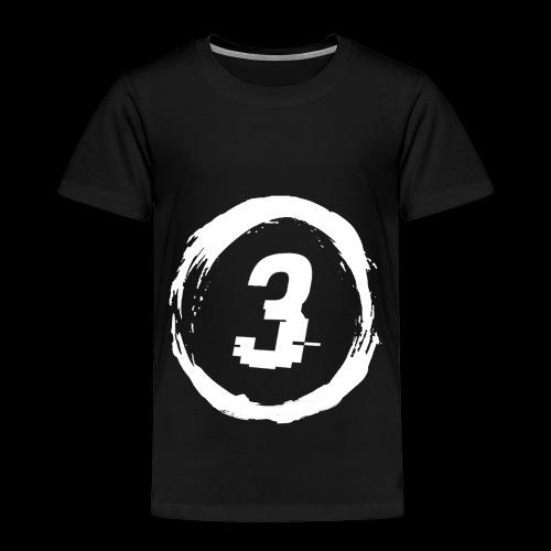 3 Circle Logo - Toddler Premium T-Shirt