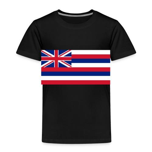 Hawaiian Flag - Toddler Premium T-Shirt