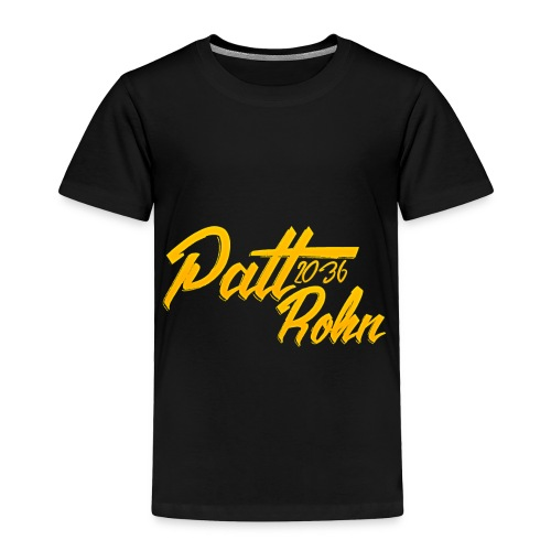 Patt Rohn 2036 Golden - Toddler Premium T-Shirt