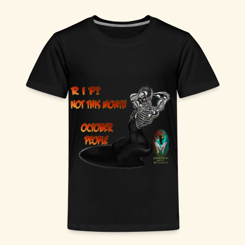 SKULL AND BONES METAL WOMAN - Toddler Premium T-Shirt