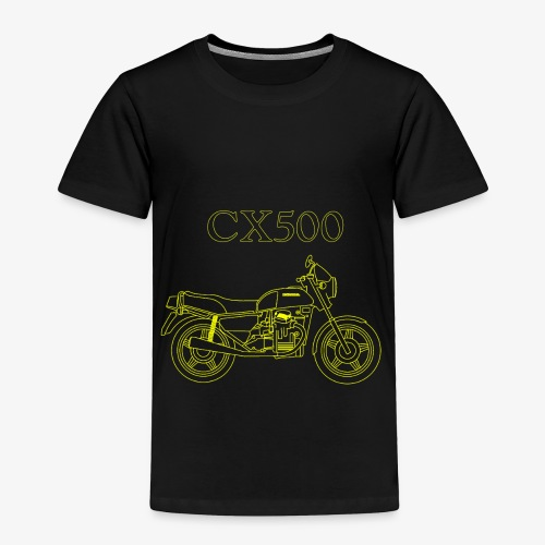 CX500 line drawing - Toddler Premium T-Shirt