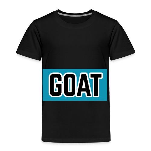 """GOAT"" - Toddler Premium T-Shirt"