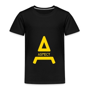 Limited Edition Gold Aspect Logo Sweatshirt - Toddler Premium T-Shirt