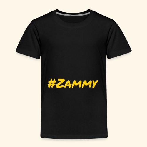 Gold #Zammy - Toddler Premium T-Shirt
