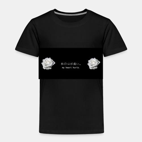 No matter how much pain you going through it be ok - Toddler Premium T-Shirt