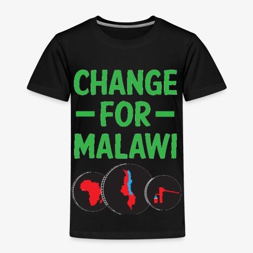 Change for Malawi Logo Shirt - Toddler Premium T-Shirt