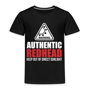 Authentic Redhead Funny Women T-Shirt - Toddler Premium T-Shirt