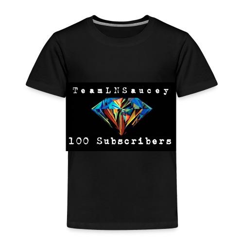 100 Subscribers T-Shirts - Toddler Premium T-Shirt