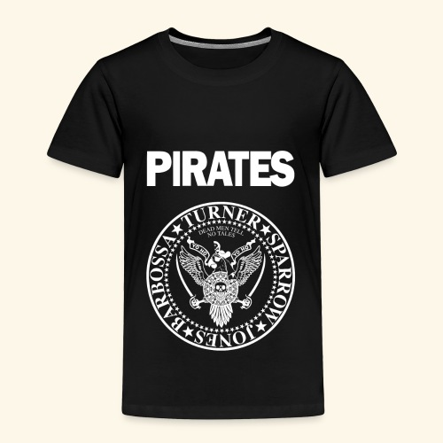 Punk Rock Pirates [heroes] - Toddler Premium T-Shirt