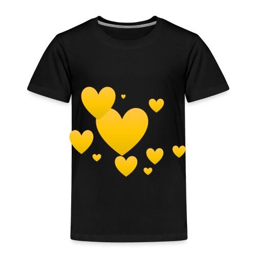 Yellow hearts - Toddler Premium T-Shirt