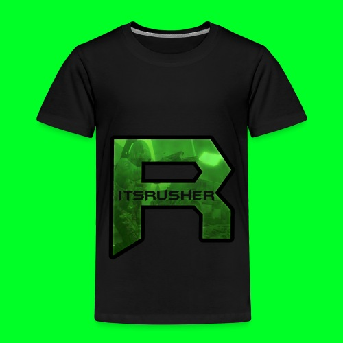 ItsRusher 2018 Logo - Toddler Premium T-Shirt