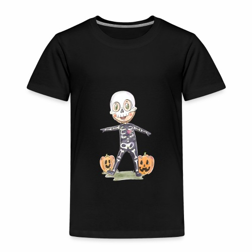 Halloween costume character background - Toddler Premium T-Shirt