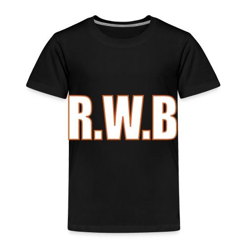 LOGOWORD2 - Toddler Premium T-Shirt