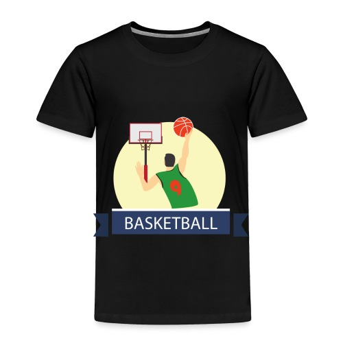 Basketball - Toddler Premium T-Shirt