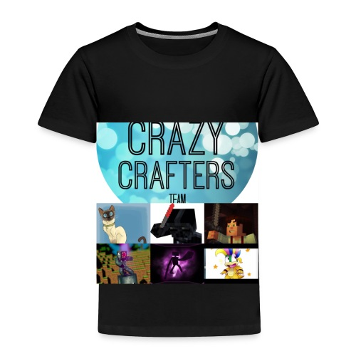 The crazy crafters - Toddler Premium T-Shirt
