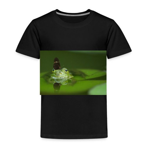 frog butterfly - Toddler Premium T-Shirt
