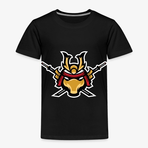 Samurai mascot - Toddler Premium T-Shirt