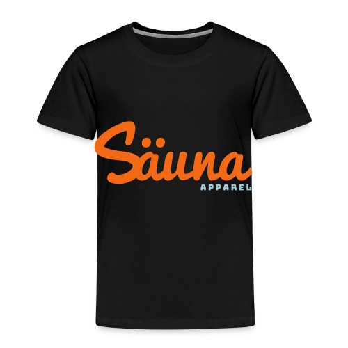 Säuna Apparel logo - Toddler Premium T-Shirt