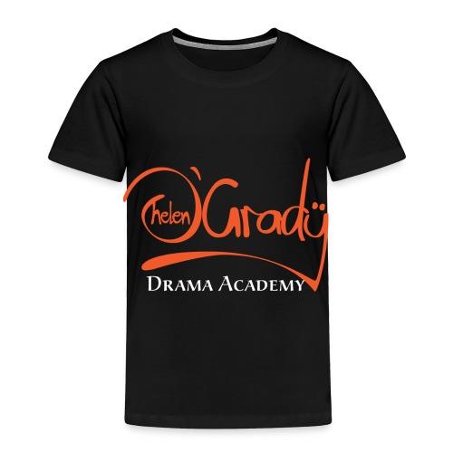 Helen O'Grady Orange Logo on Black - Toddler Premium T-Shirt
