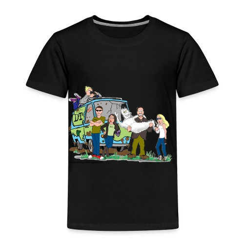 Destination Truth meets Scooby Doo - Toddler Premium T-Shirt