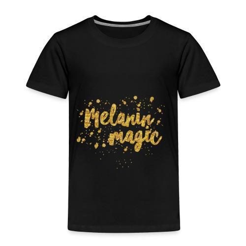 Melanin Magic by A.T.Yancey - Toddler Premium T-Shirt