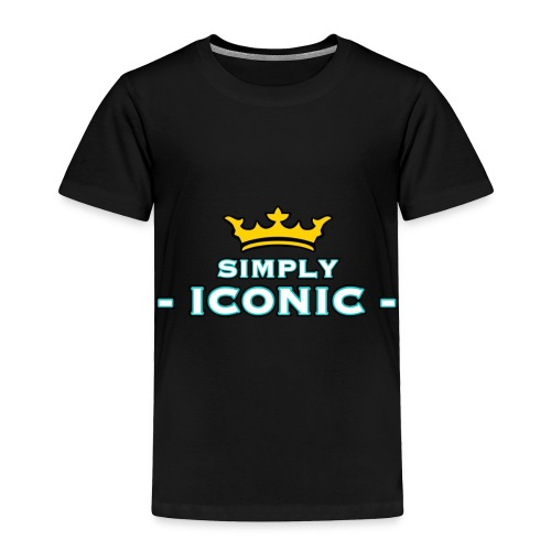 Brian Justine Pre Simply Iconic Logo - Toddler Premium T-Shirt