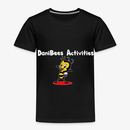 White letters DaniBee - Toddler Premium T-Shirt