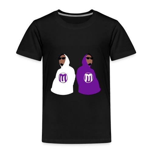 Hoodie Mash - Toddler Premium T-Shirt