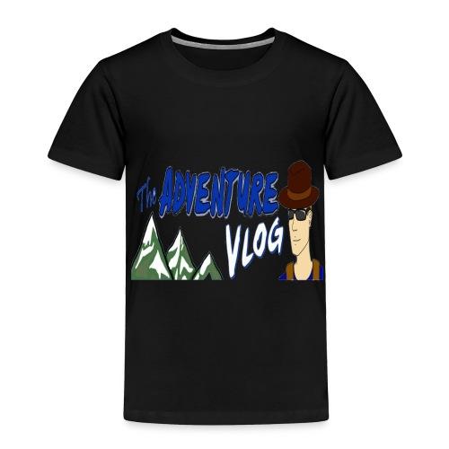 adventure vlog big image - Toddler Premium T-Shirt