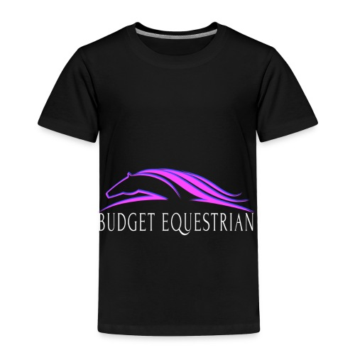 Budget Equestrian Logo - Toddler Premium T-Shirt