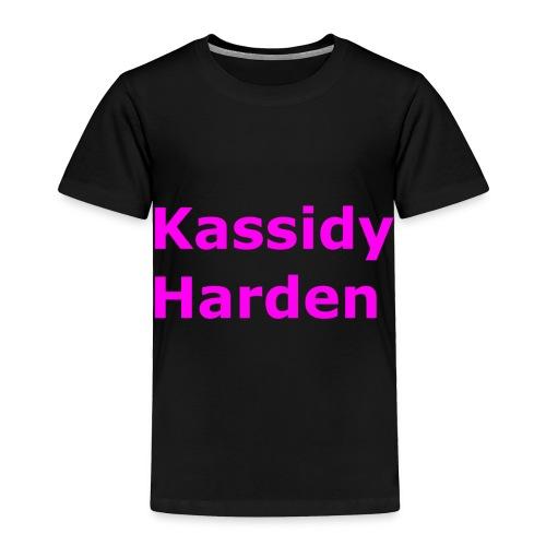 Kassidy Harden - Toddler Premium T-Shirt