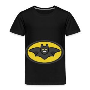 IAMBATMAN BEAM CHANNEL LOGO - Toddler Premium T-Shirt